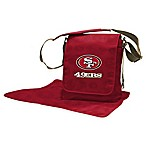 Lil Fan® NFL San Francisco 49ers Messenger Diaper Bag