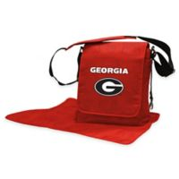Lil Fan® University of Georgia Messenger Diaper Bag