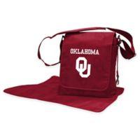 Lil Fan® University of Oklahoma Messenger Diaper Bag