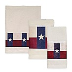 Avanti Texas State Flag Hand Towel in Red/White/Blue
