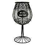Metal Wine Glass Cork Collector