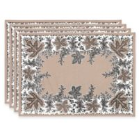 Botanique Placemats in Flax (Set of 4)
