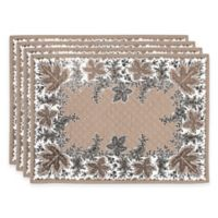 Botanique Quilted Placemats in Flax (Set of 4)