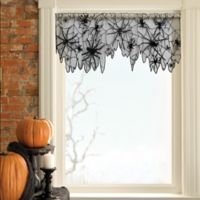 Heritage Lace® Creepy Crawly 60-Inch x 22-Inch 4-Way Decoration in Black