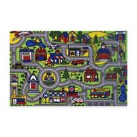 Fun Rugs™ Driving Time 1-Foot 7-Inch x 2-Foot 4-Inch Accent Rug