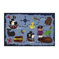 Fun Rugs™ Ahoy Matey 3-Foot 3-Inch x 4-Foot 10-Inch Accent Rug