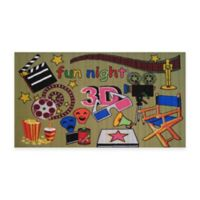 Fun Rugs™ Movie Time 3-Foot 3-Inch x 4-Foot 10-Inch Accent Rug