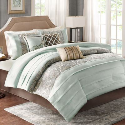 madison park bryant 7piece queen comforter set