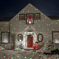 Pro Night Stars Remote-Controlled LED Landscape Lights with Spotlight in Red/Green