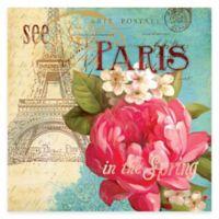 Paris Gardens I Canvas Wall Art