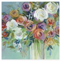 Bright Flowers I Canvas Wall Art