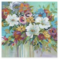 Bright Flowers II Canvas Wall Art