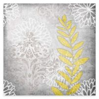 Grey Flower I Canvas Wall Art