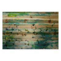 Marmont Hill Acadia Street 60-Inch x 40-Inch Pine Wood Wall Art