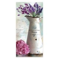 Lavender Vintage Floral I Canvas Wall Art