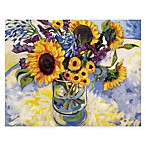 Courtside Market Sunflowers Floral Canvas Wall Art
