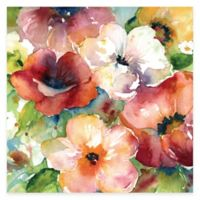 Bunches of Flowers I Floral Canvas Wall Art