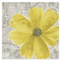 Flower Yellow Poppy Canvas Wall Art