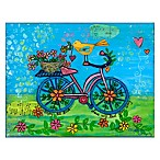 Courtside Market Enjoy the Ride Canvas Wall Art