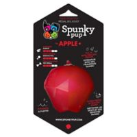 Spunky Pup Fruits and Veggies Apple-Shaped Treat Toy