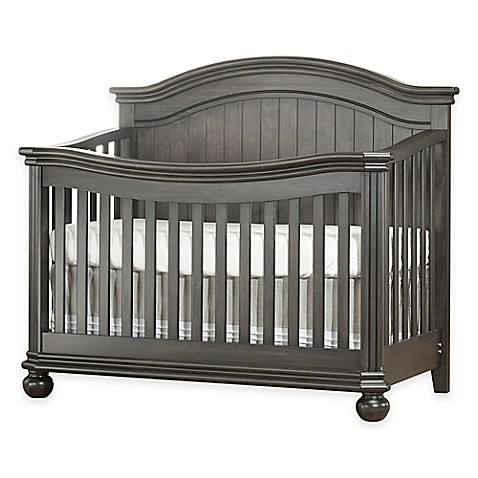 Sorelle Finley 4 In 1 Convertible Crib In Vintage Grey