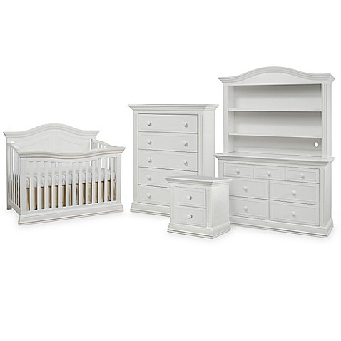 sorelle providence nursery furniture collection in white