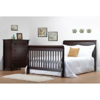Sorelle Tuscany Full Size Bed Rails in Cherry