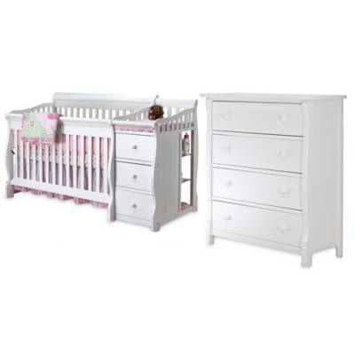 Sorelle Tuscany Nursery Furniture Collection In White