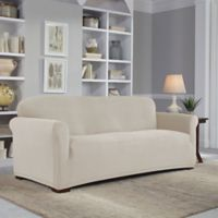 Perfect Fit® Easy Fit Sofa Slipcover in Putty