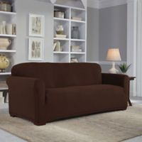 Perfect Fit® Easy Fit Sofa Slipcover in Chocolate