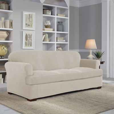 Perfect Fit® Easy Fit 2-Piece T-Sofa Slipcover