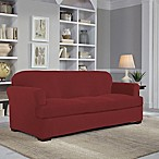 Perfect Fit® Easy Fit 2-Piece T-Sofa Slipcover in Claret