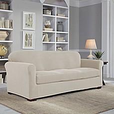 Perfect Fitu0026reg; Easy Fit 2 Piece Sofa Slipcover