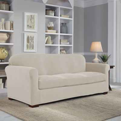 Perfect Fit® Easy Fit 2-Piece Sofa Slipcover