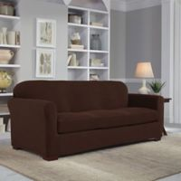 Perfect Fit® Easy Fit 2-Piece Sofa Slipcover in Chocolate
