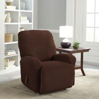 Perfect Fit® Easy Fit Recliner Slipcover in Chocolate