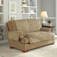Perfect Fit® Waterproof Loveseat Protector in Camel