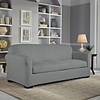 Perfect Fit® 2-Piece Reversible Sofa Slipcover in Steel