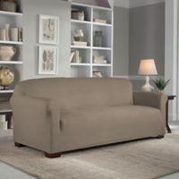 Perfect Fit® Reversible Sofa Slipcover in Khaki