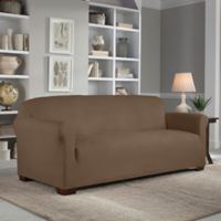 Perfect Fit® Reversible Sofa Slipcover in Chocolate