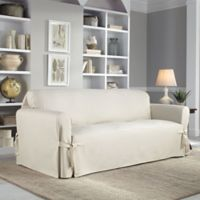 Perfect Fit® Classic Relaxed Fit Sofa Slipcover in Parchment
