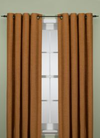 Union Square 84-Inch Grommet Top Window Curtain Panel in Cinnamon