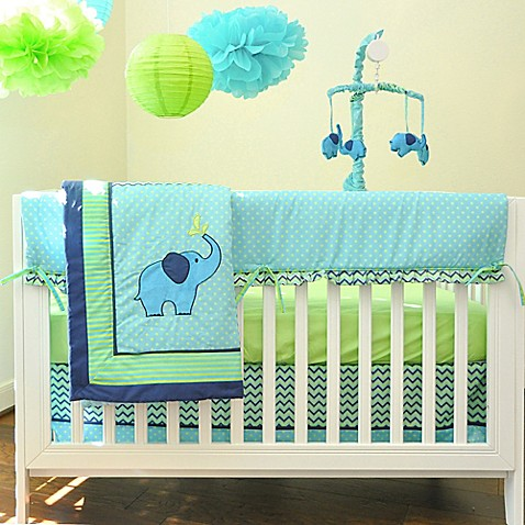 Elephant Crib Bedding