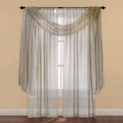 Buy Sheer Window Valances from Bed Bath & Beyond