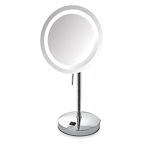 Jerdon 8X LED Lighted Vanity Mirror - Bed Bath & Beyond