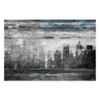 Parvez Taj Sunset in NYC 18-Inch x 12-Inch Canvas Wall Art