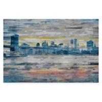 Parvez Taj Bridge Skyline 45-Inch x 30-Inch Canvas Wall Art