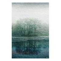 Marmont Hill Apple Lake 18-Inch x 12-Inch Canvas Wall Art