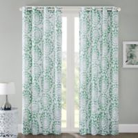 Regency Heights Mariposa 84-Inch Grommet Top Window Curtain Panel in Mint