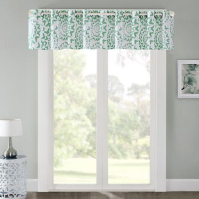 Super Buy Green Window Valances from Bed Bath & Beyond RA95
